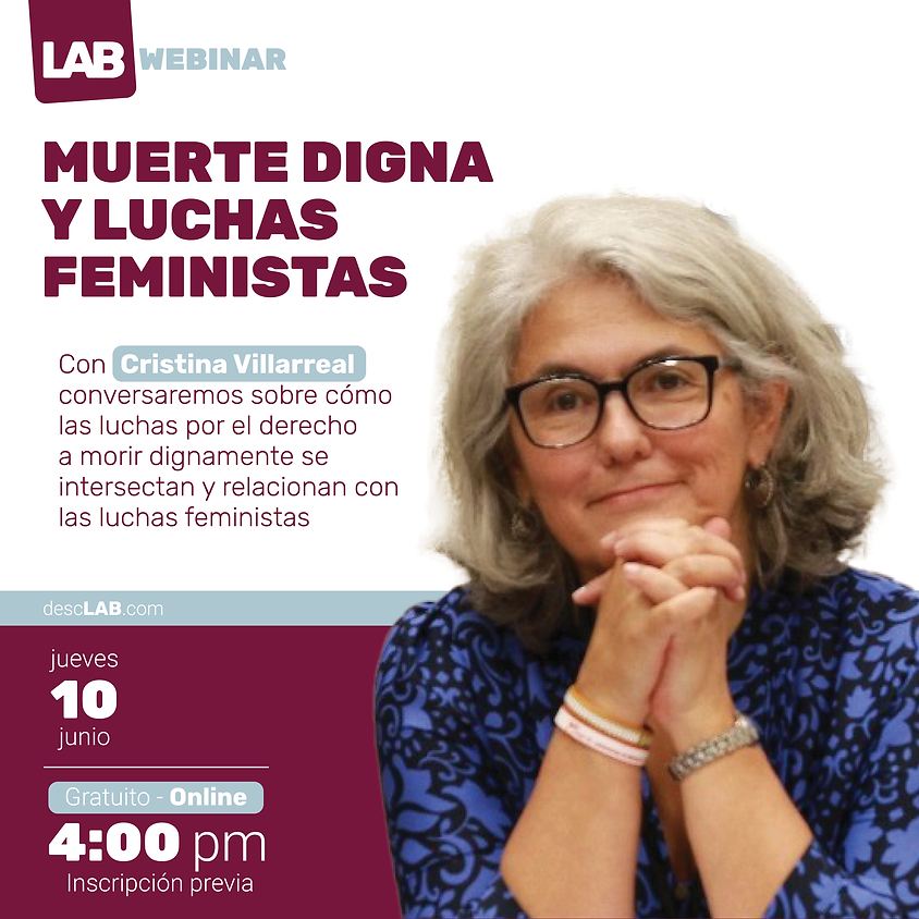 Webinar | Muerte digna y luchas feministas
