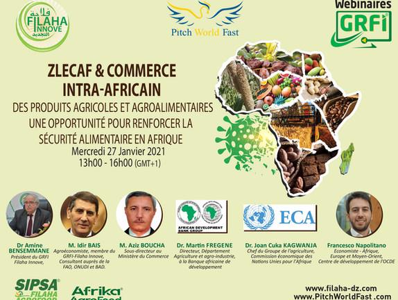 ZLECAF et commerce intra-africain de produits agricoles et agroalimentaires