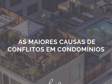 As maiores causas de conflitos em condomínios