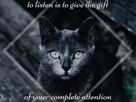 The Gift of Your Attention