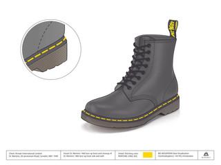Dr. Martens - 1460 Boot illustration
