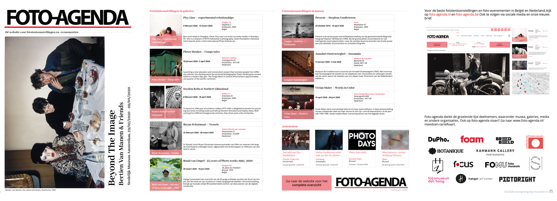 Brochure Foto-Agenda februari 2020