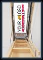 printed attic stairway insulators