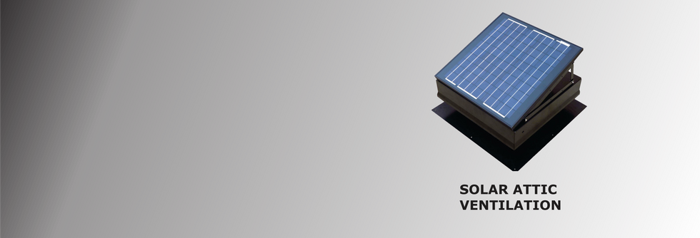 Wholesale Solar Attic Ventilation