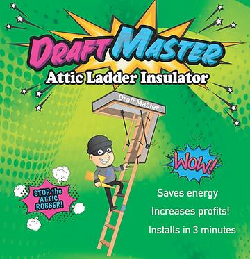 draft master attic tent, wholesale attic tent, attic stairway insulator wholesale