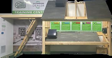 solar fan installation training, training on sales and installation of the attic depot solar attic fans and stairway insulators.solar royal installation, attic breeze installation