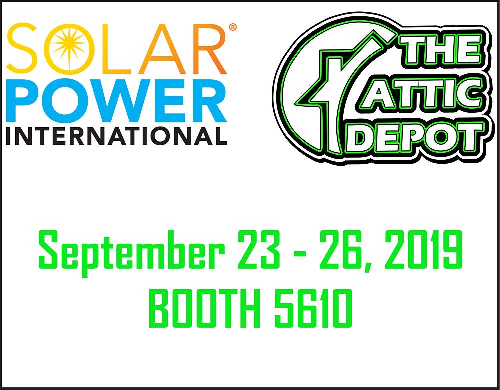 The Attic Depot at Solar Power International