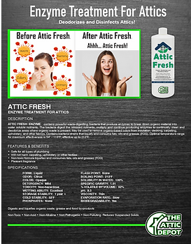 Attic Fresh Brochure