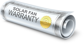 solar attic fan lifetime warranty, solar royal warranty, attic breeze warranty