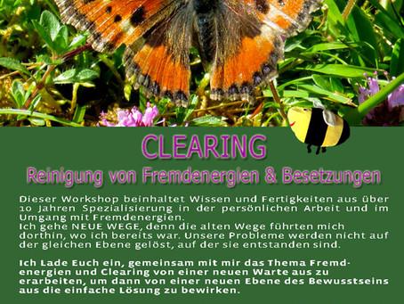 CLEARING - Reinigung von Fremdenergien & Besetzungen