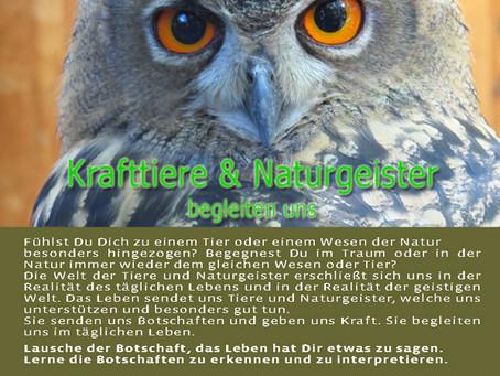 Krafttiere & Naturgeister begleiten uns