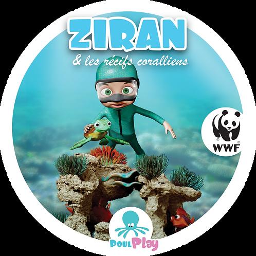Autocollant ZIRAN