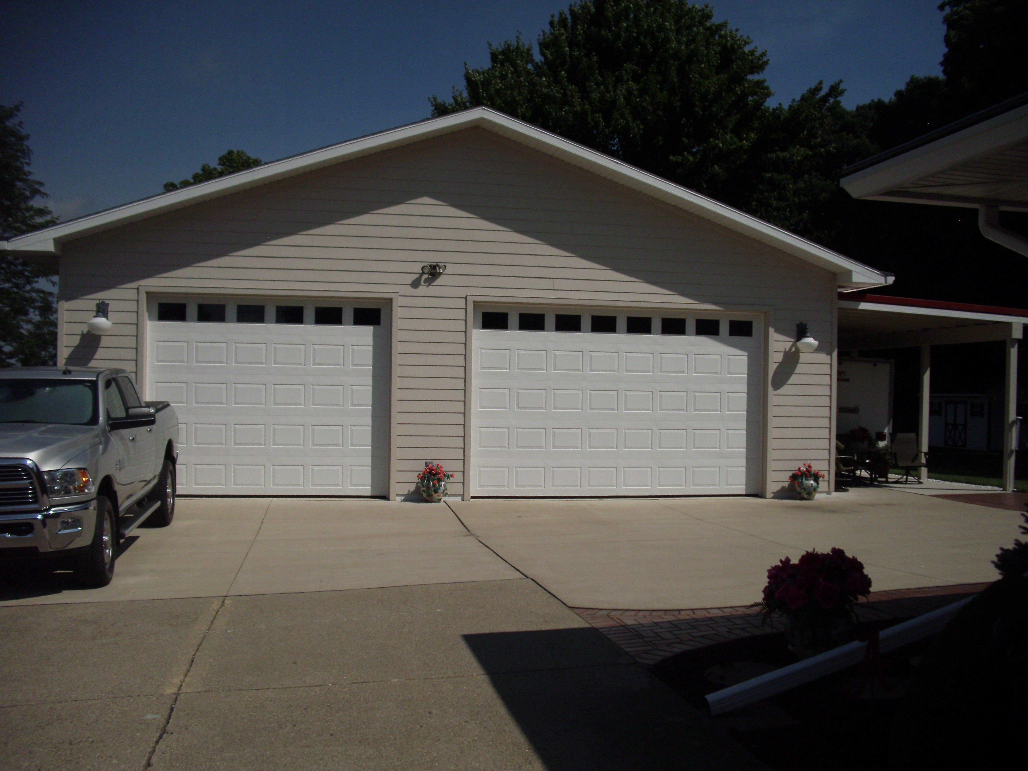 new custom garage