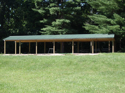 custom built pavilion