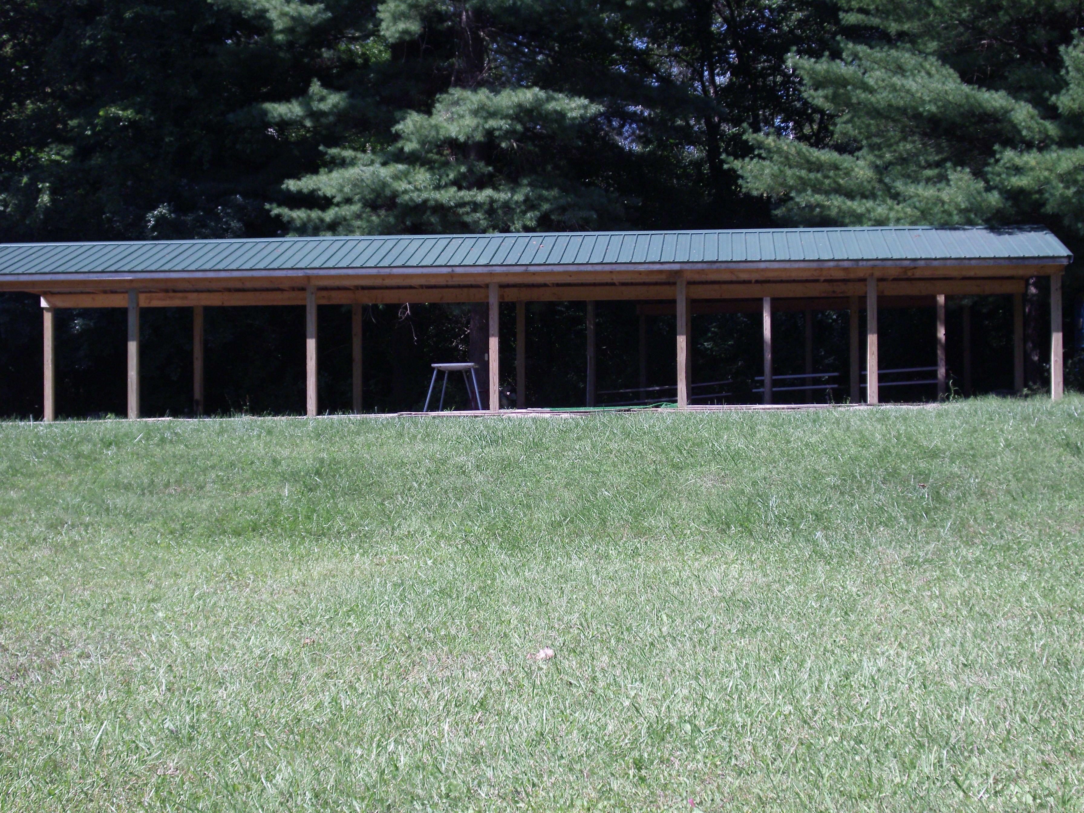 custom built pavilion