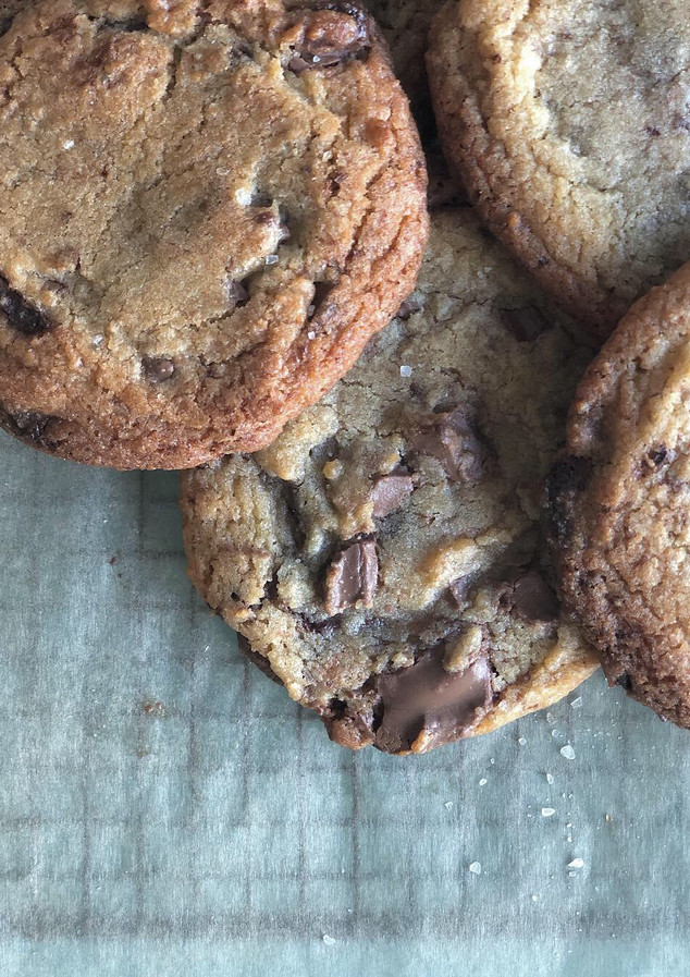 Sea Salt and Milk Chocolate Cookies
