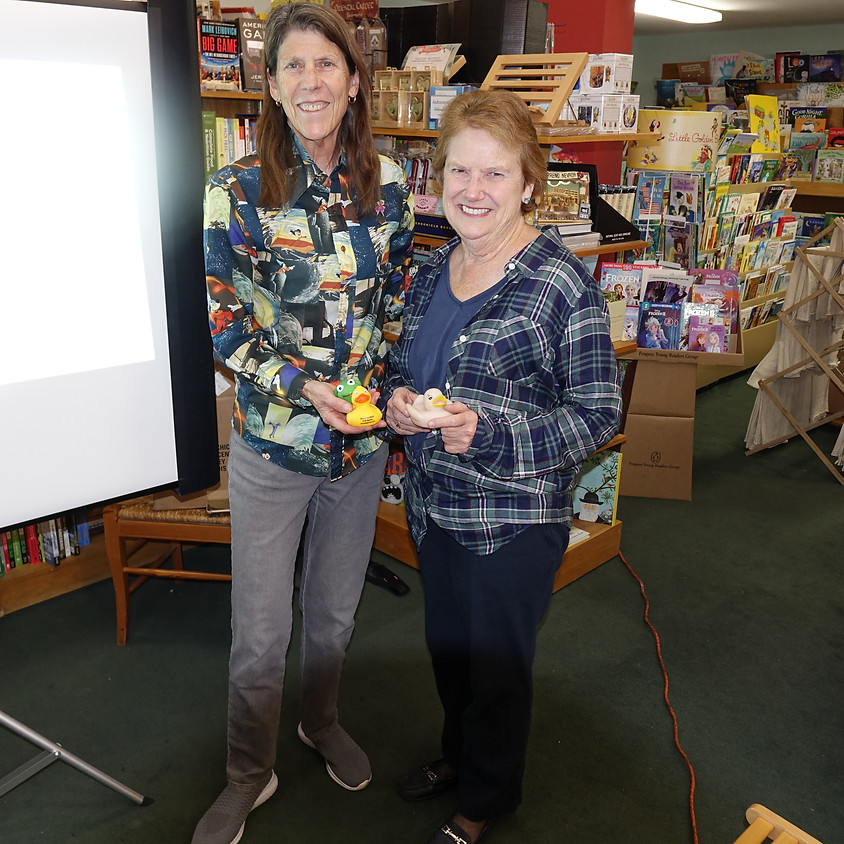 Robin Holabird Goes Around the World at The Avid Reader in Davis, California