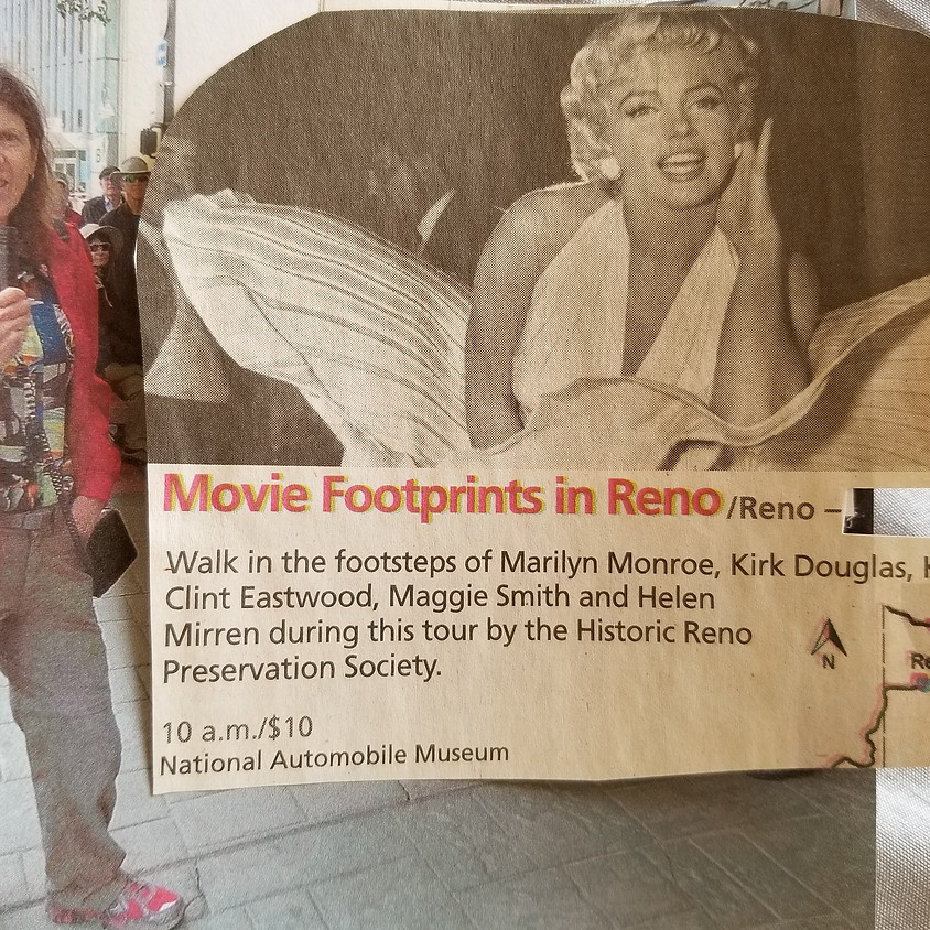 Reno Movie Footprints