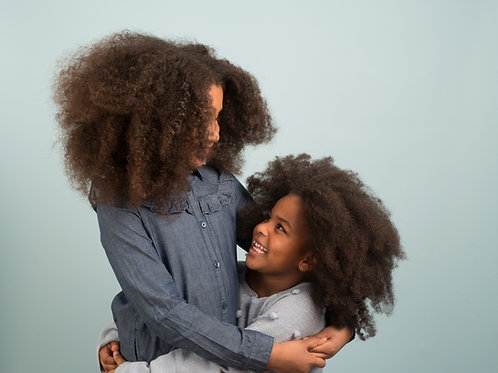 pack cheveux VOLUMINEUX et famille NOMBREUSE