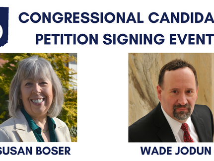 Congressional Candidate Petition Signing
