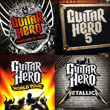 Guitar Hero, Neversoft (Activision)