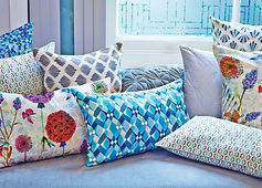 Now available at Selfridges: Nitin Goyal London Print Cushions