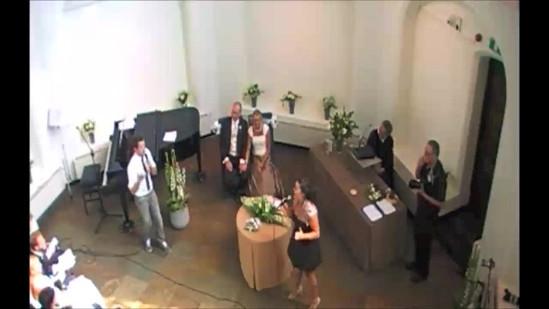 Bruiloft Zangeres