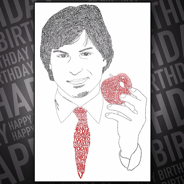 Happy Birthday Steve Jobs....