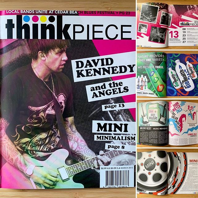 """Think Piece Magazine Layout""__#graphicd"