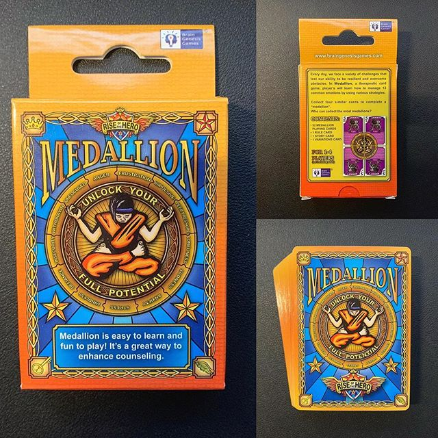 """Medallion - Card Game Package Design""__"