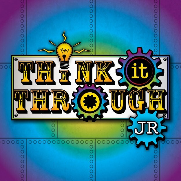 Think It Through JR Logo Design__See mor