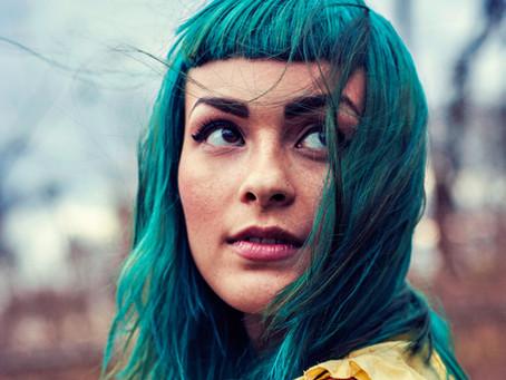 Blauwe haarverf kopen