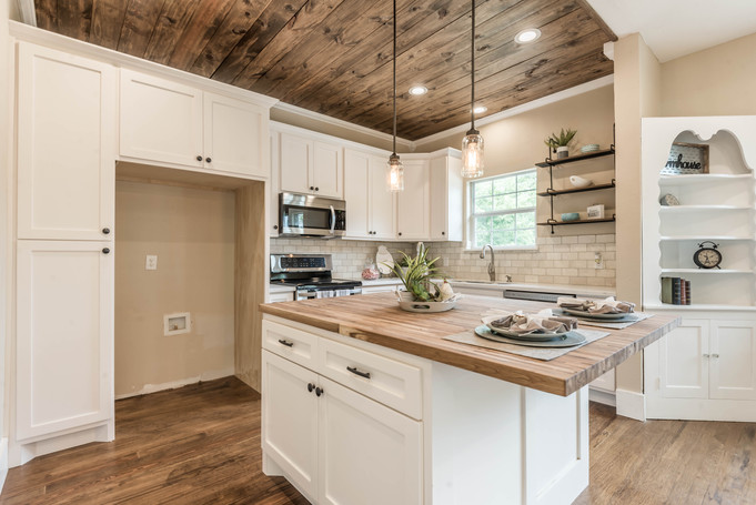 The importance of home staging.
