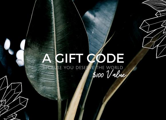 $100 eGift Code