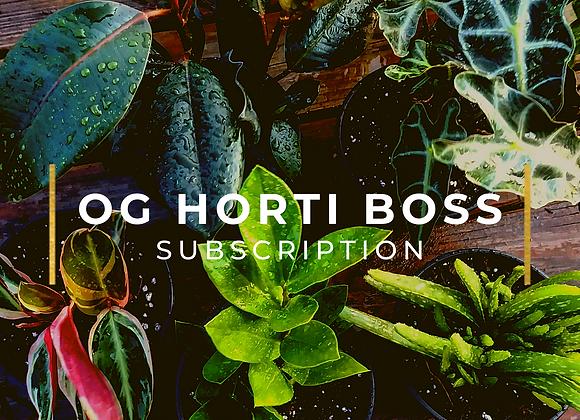 THE OG HORTI-BOSS