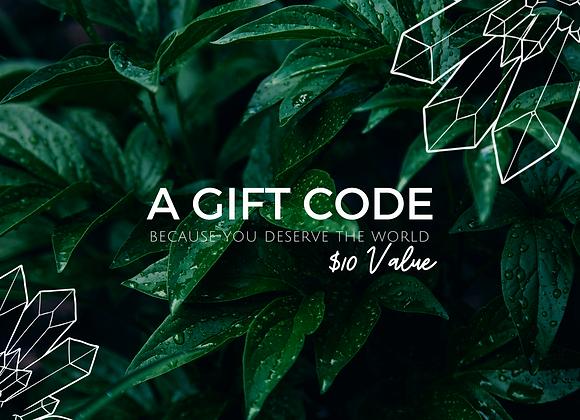 $10 eGift Code