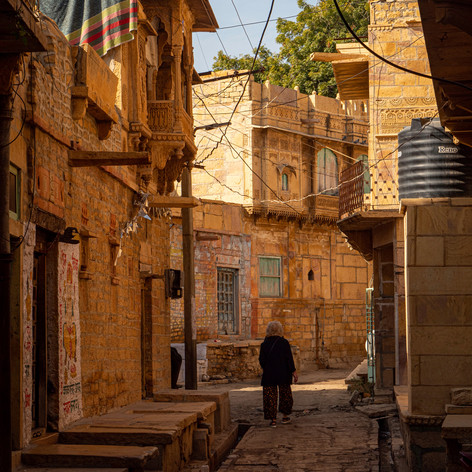 Jaisalmer Jewellery Street