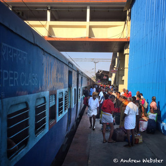 Madurai Station, India