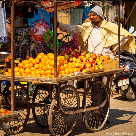 Fruitseller Jaisalmer