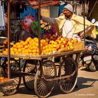 Orange Seller, Rajasthan