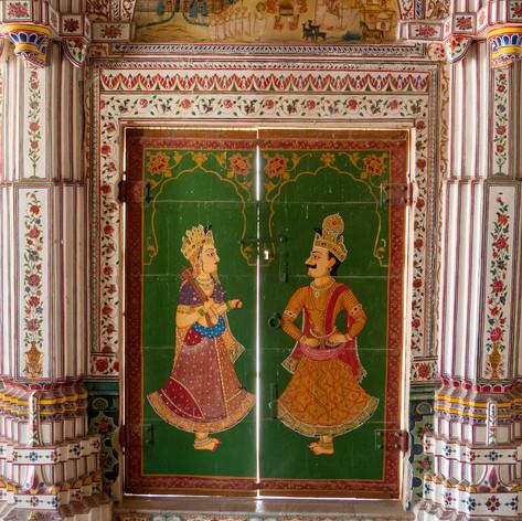 Bikaner Jain Temple Doors