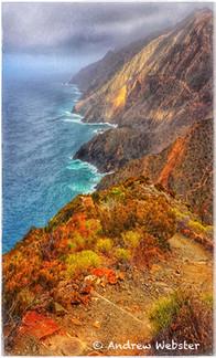 Cliffs, La Gomera, Canary Islands
