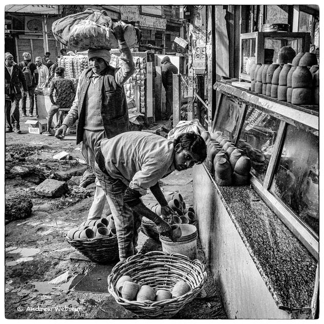 Washing Chai Cups
