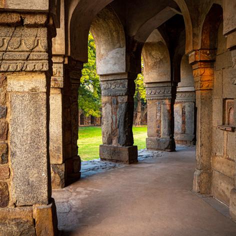 Pillars Lodhi Gardens.j