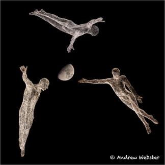 Three Flying Men