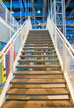 Pompidou Escalier