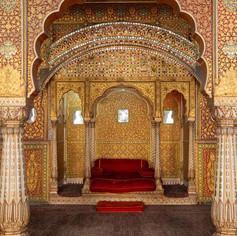 Bikaner Throne