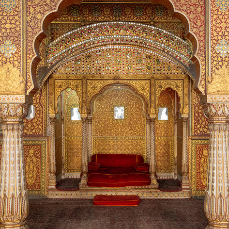 Bikaner Throne
