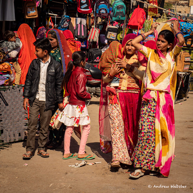 Bikaner Market, Rajasthan