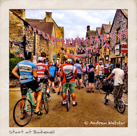The start at Bakewell